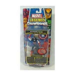 Marvel Legends Showdown Captain America Toybiz