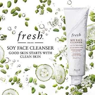 🚚 RTP$63 BNIB AUTHENTIC Fresh Soy Face Cleanser 150ml