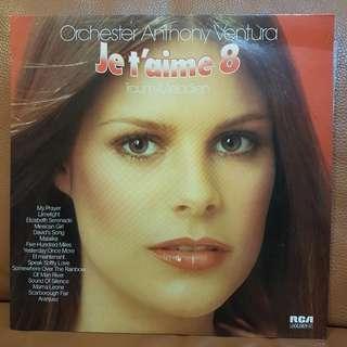 Mint》Je t'aime 8 Vinyl Record