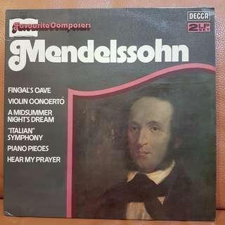 Mint: Classical》Mendelssohn (2 LPs) Vinyl Record