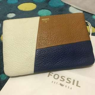 Fossil clutch 3-colour. dompet fossil original