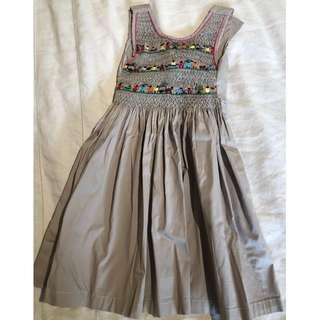 Kids Dress with hand embroidery size 4 years old