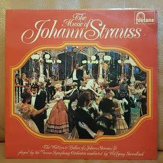 Reserved: Classical》The Music Of Johann Strauss (2LPs)  Vinyl Record