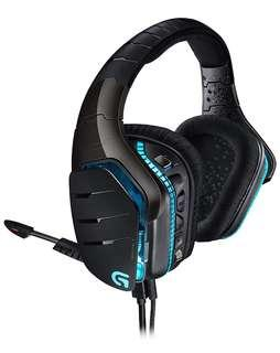 🚚 Logitech G633 Artemis Spectrum – RGB 7.1 Dolby and DST Headphone Surround Sound Gaming Headset – PC, PS4, Xbox One, Switch, and Mobile Compatible – Exceptional Audio Performance – Black Gaming headset