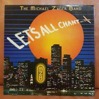 Reserved: Mint》The Michael Zager Band - Let's All Chant Vinyl Recordp