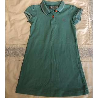 Kids Petit Bateau Polo Dress 4 years old