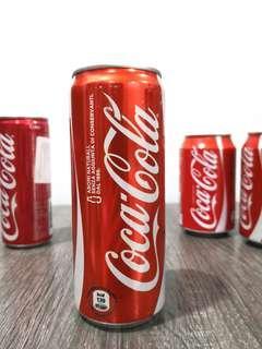 Italy coca cola coke cans tins