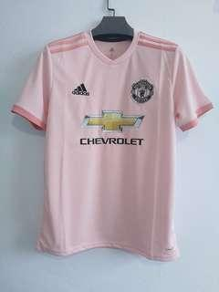 100% Authentic Manchester United Man Utd Pink Jersey 2018/19 2018 2019