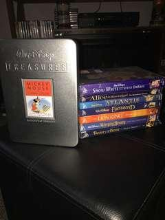 Walt Disney DVD collection