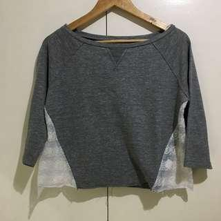 Just G knitted cropped pullover
