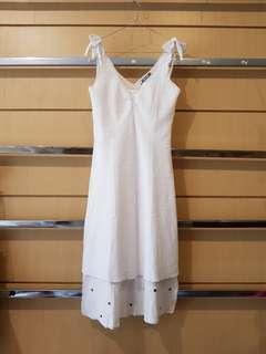 IO&CO White Summer Slip Dress