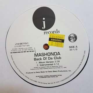 Remix》Mashonda - Back Of Da Club vinyl record