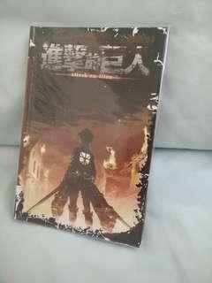 Attack on Titan Notebook