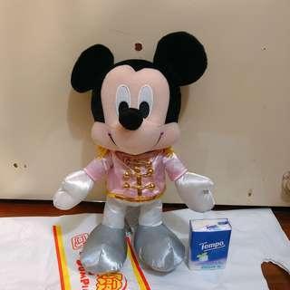 Disney Mickey Mouse 米奇老鼠 公仔 禮服版