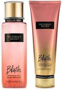 Victoria Secret's BLUSH fragrance mist & body lotion