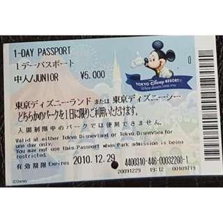 (1K 中人) MAGIC KINGDOM CLUB PASSPORT - TOKYO DISNEY, $25 包郵