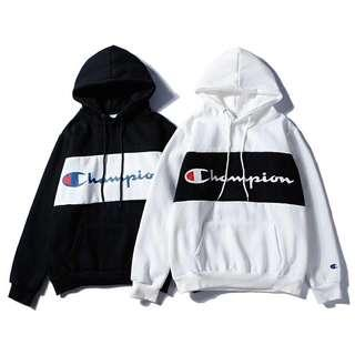 Champion Athletic Banded Hoodie Pullover Sweater