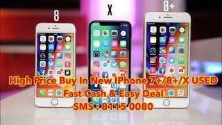 WTB iPhone X USED HIGH PRICE