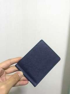 Bifold wallet money clip dompet