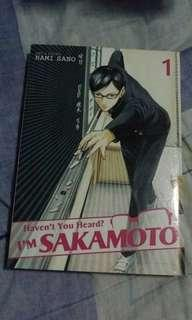 Haven't you heard?I'm Sakamoto manga Volume 1