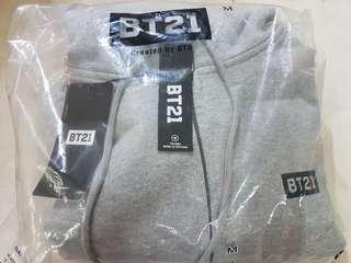 Instock Official BT21 ArtWork Zip-Up Hoodie
