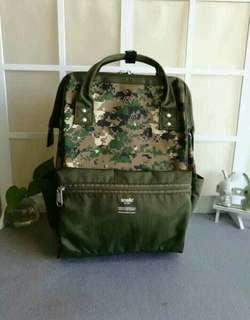 AUTHENTIC ANELLO LARGE BACKPACK IN CAMO