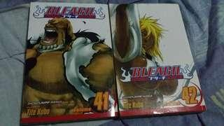 Bleach manga volume 41 and 42