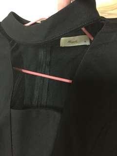 🚚 黑色質感小洋裝 M