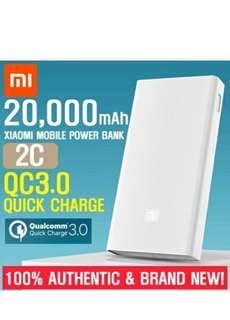 Time Sale Authentic Xiaomi Powerbank 20000mAh Gen 2C