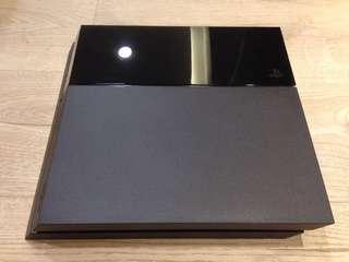 PS4主機 1107A台灣公司貨(500G極致黑色)