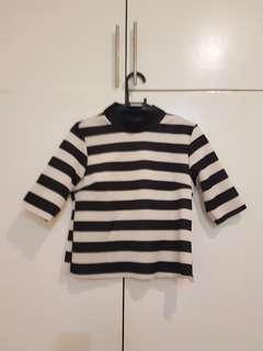 Zara Striped Spandex Top
