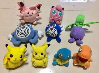 Authentic TOMY Evolving Pokemon Plushies Soft Toy