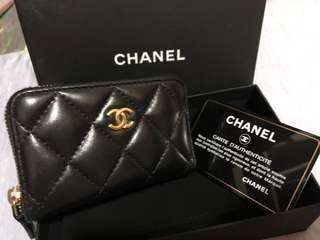 Chanel card holder/ coins bag
