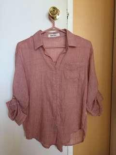 Women's cute light blouse shirt