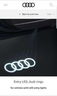 Original Geniune Audi Door Logo LED Welcome / Puddle Lights