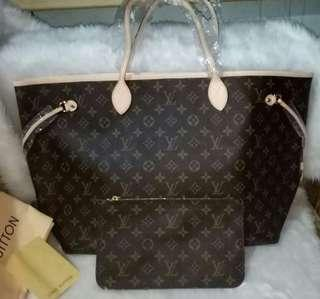 AUTHENTIC QUALITY LV NEVERFULL MONOGRAM GM