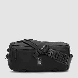 INSTOCK - Chrome Industries Kadet All-Black Nylon Messenger Sling Bag