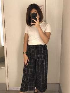 Loose trousers terno