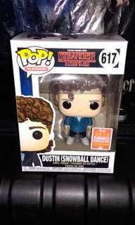 Dustin of Stranger Things 2018 Summer Convention Exclusive Funko Pop