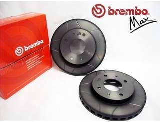 Mitsubishi CS3 BREMBO Max Slotted Disc Rotor