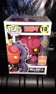 Hellboy in Suit 2018 Summer Convention Exclusive Funko Pop
