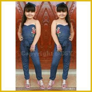 🌈 New! Sale Price!! Classy Floral Embroidery est fit 6 - 10 years old