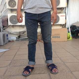 blue jeans pants