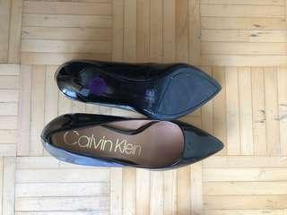 Calvin Klein black heels size 8.5