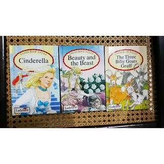 A Set Of Ladybird Favourite Tales-Cinderella, Beauty And The Beast, The Three Billy Goats Gruff