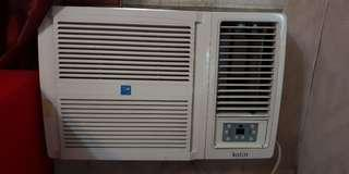 Kolin Window Type Airconditioner 2.6 HP Model KAG- 260RS