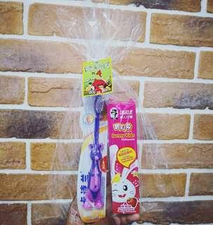 Goodie Bag Toothbrush and Toothpaste set