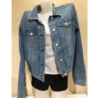 American Eagle Outfitters Plus Size Denim Jacket XXL Asian