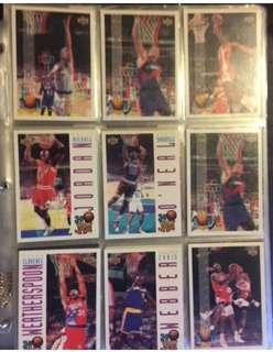 NBA BASKETBALL CARDS - LIMITED EDITION AND ORIGINAL - AS NEW CONDITION