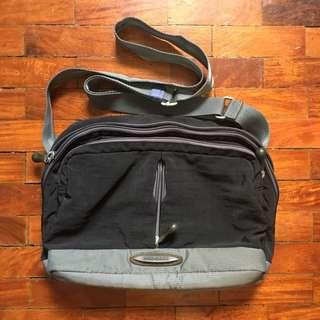 Hedgren Sling Bag Grey Black
